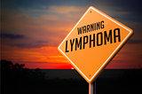 Lymphoma on Warning Road Sign.