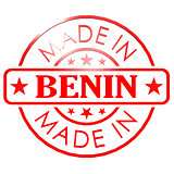 Made in Benin red seal