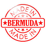 Made in Bermuda red seal