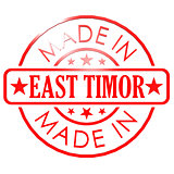 Made in East Timor red seal