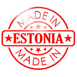 Made in Estonia red seal