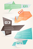 Origami Style Options Banner