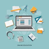 flat  elements of education