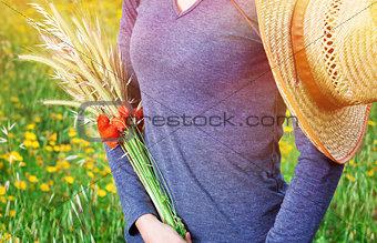 Autumn harvest season