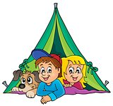 Camping theme image 1