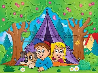 Camping theme image 3