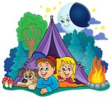 Camping theme image 4