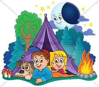 Camping theme image 4