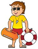 Life guard theme image 1