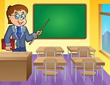 Man teacher theme image 3