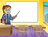 Man teacher theme image 4