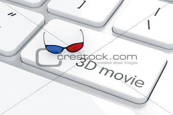 3D movie concept