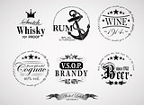 alcohol labels