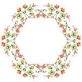 twenty series designed from the ottoman pattern