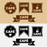 Vintage Cafe Badges
