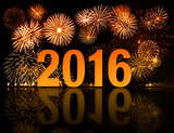 2016 new year fireworks