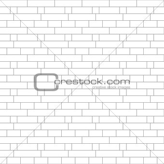 Abstract gray striped geometric seamless background brick wall