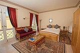 Bedroom in a luxury villa