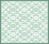 thirty series designed from the ottoman pattern
