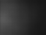 Dark metal background with square elements