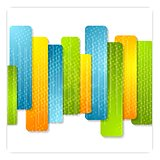 Abstract colorful stripes modern background