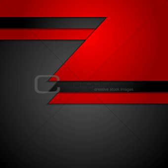 Abstract dark corporate tech background