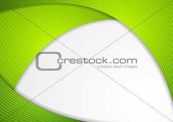 Abstract modern corporate wavy background