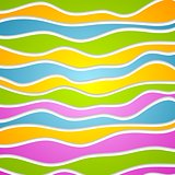 Abstract colorful waves. Vector design template