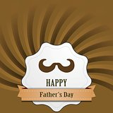 Father's Day abstract retro vintage background