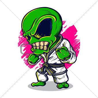 Alien Karate