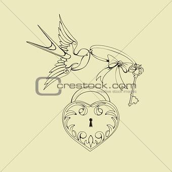 old school tattoo symbols