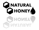 natural honey symbol