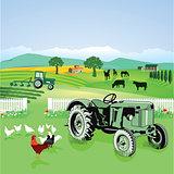 Farmland and nature