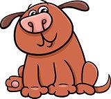 dog or puppy cartoon