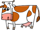 cow farm animal cartoon