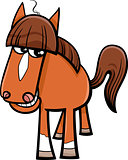 horse farm animal cartoon