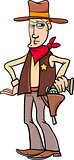 sheriff cowboy cartoon
