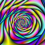 Rainbow Spiral Tunnel