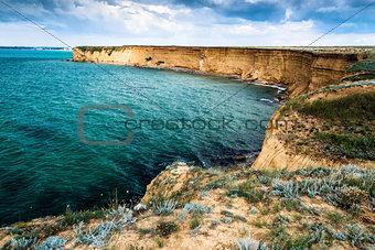 Cape Lucullus. Republic of Crimea.