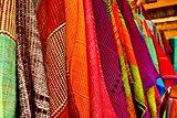 Colorful thai native fabric