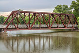 trestle on Katy Trail in Missouri