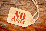 No gluten on paper price tag