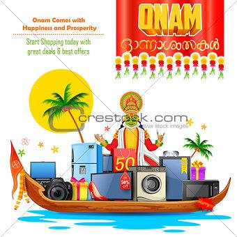 Happy Onam sale offer