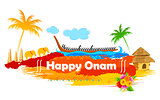 Boat Race of Kerla on Onam