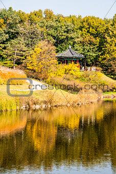 Pagoda in Seoul, South Korea