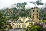 Sant Esteve church in Andorra. Romanesque architecture
