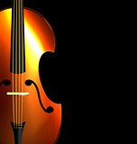 image of abstract fiddle