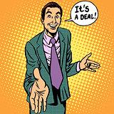 deal man businessman handshake contract