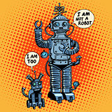 I am not a robot said dog future science fiction