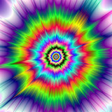 Psychedelic Color Explosion